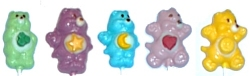 Care Bear Chocolate Lollipops